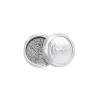 RuNail, Пыль для дизайна, серебряный, матовый