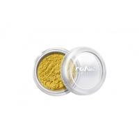 RuNail, Пыль для дизайна, золотой, матовый