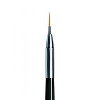 RuNail, Кисть для дизайна Nail Art Nylon №00/2, 6 мм