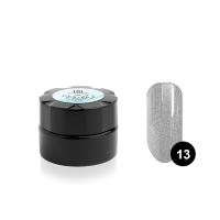 Гель-краска для тонких линий TNL Voile №13 паутинка (серебряный металлик), 6 мл.