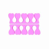 TNL, Разделитель пальцев для педикюра, розовые 2 шт/1пара
