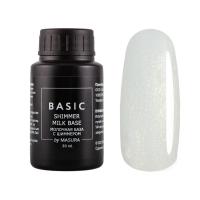 MASURA , BASIC Shimmer Milk Rubber Base - Молочная каучуковая база с шиммером, 30 мл