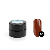 TNL, Гель-краска для дизайна ногтей №06 спелая вишня, 6 мл