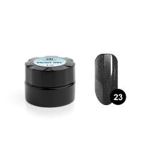 TNL, Гель-краска для дизайна ногтей №23 мокрый асфальт, 6 мл