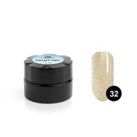 TNL, Гель-краска для дизайна ногтей №32 золотой песок, 6 мл