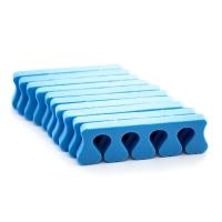Разделители для пальцев, синие 5 пар/уп.