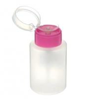 Soline Charms, Помпа для жидкости большая, розовая 200 мл