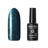 GRATTOL, Гель-лак Luxury stones, Emerald 03 (9мл )