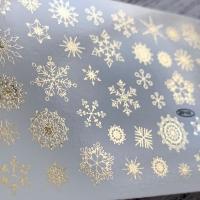 Наклейка слайдер-дизайн фольгированный by Anna Tkacheva NY128 FOIL GOLD