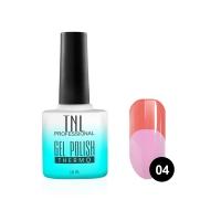 Гель-лак TNL - Тhermo №04 - коралловый/розовый (10 мл.)
