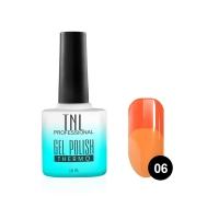 Гель-лак TNL - Тhermo №06 - неоновый/оранжевый (10 мл.)