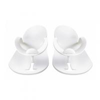RuNail, Одноразовые тапочки для педикюра (белые, 3 мм) №1383