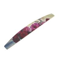 Кристалл Nails, Пилка лодка Красные Розы, высокого качества 180/240 грит