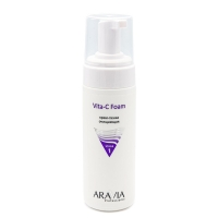 ARAVIA Professional, Крем-пенка очищающая Vita-C Foam, 160 мл