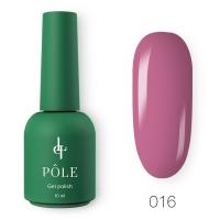 POLE, Гель-лак Роскошь №016 - Ежевичный йогурт, 10 мл
