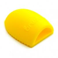 TNL, Мини-перчатка для мытья кистей - желтая