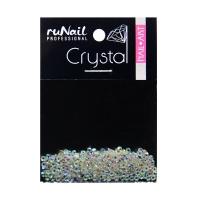RuNail, Дизайн для ногтей, стразы, голографический, 1,5 мм, 288 шт, №4114