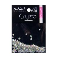 RuNail, Дизайн для ногтей, стразы, голографический, 1,5 мм, 288 шт, №4118