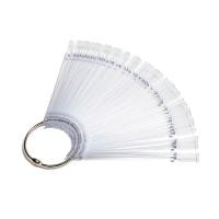 TNL, Палитра-веер, прозрачная, 50 шт