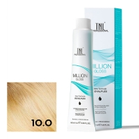 TNL, Крем-краска для волос Million Gloss оттенок 10.0 Платиновый блонд, 100 мл