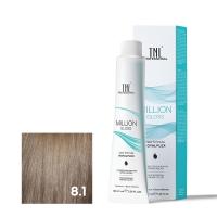 TNL, Крем-краска для волос Million Gloss оттенок 8.1 Светлый блонд пепельный, 100 мл