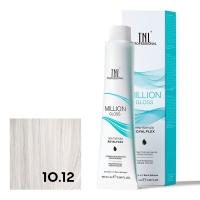 TNL, Крем-краска для волос Million Gloss оттенок 10.12 Платиновый блонд пепельный перламутровый, 100 мл
