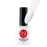UNO Lux professional, Гель-лак №240 White — Белый, 15 мл