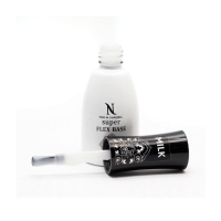 Nika Nagel, База для ногтей, Super FLEX BASE Milk, 10 мл