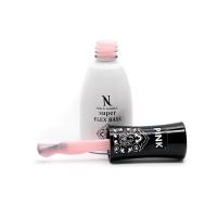 Nika Nagel, База для ногтей, Super FLEX BASE Pink, 10 мл